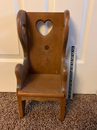 Wooden doll chair Aston, 19014