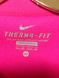 $15$ NIKE Pink Long Sleeve Dri-Fit (Size XS) Ajax, L1S 1T7