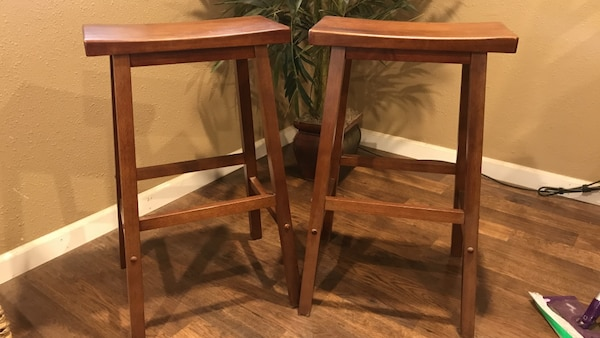 2 Brand New Bar Stools That Have Never Been Used