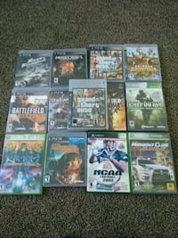 Ps3 and Xbox 360 games 10$ for each 65$ for all Fresno, 93726