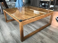 Crate and Barrel Wood Coffee Table Washington, 20024