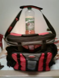 Black and red tackle bag whit a built-in cooler an Hagerstown, 21740