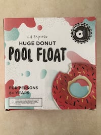 Huge Donut Pool Float Mississauga, L5N 8H6