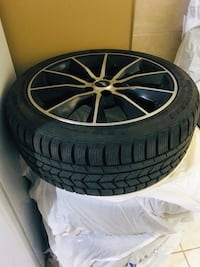 Winter tires with rims Mississauga