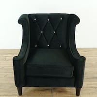 Upholstered Barrister Armchair (1027645)