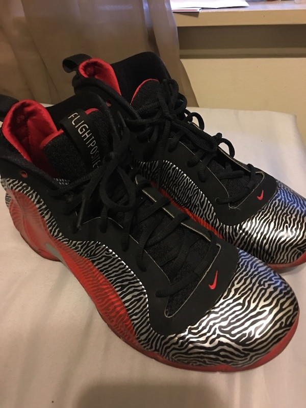 4b036c690d101c Used Nike flight foams positives size 9.5 asking 75  for sale in ...