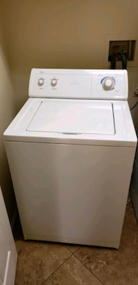 white top-load clothes washer Las Vegas, 89135