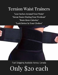 Lose Inches Around Your Waist In No Time!! BRAND NEW Waist Trainers!! Toronto