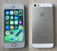 iphone factory unlocked 5s 16G white/silver without charger or headset Ottawa