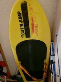yellow and black surfboard with black and yellow bag Lakeland, 33810