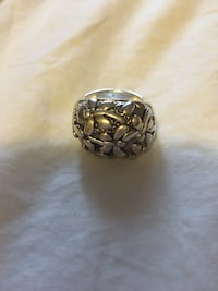 Sterling silver butterfly /dragonfly ring
