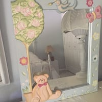Mirror/ child's room - blue frame Lutherville Timonium, 21093