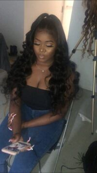 Hair styling, hair extensions, weave, sew ins, frontal, closure, wigs Milton