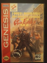 Sega Genesis Lethal Enforcers 2: Gun Fighters Vaughan, L4L