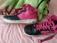 pair of black-and-pink Nike basketball shoes Las Vegas, 89115