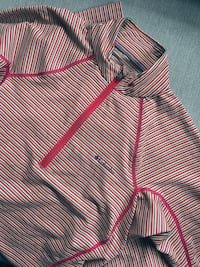 pink and white striped zip-up hoodie Québec, G1W 5B4