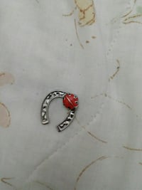 silver-colored and red gemstone ring Albuquerque, 87123