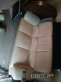 Excellent condition white couch