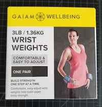 Women's 3lb Exercise Wrist Weights - New Cape Coral