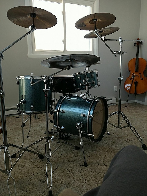 Breakbeats Drum Kit : used ludwig breakbeats drum set for sale in rockton letgo ~ Vivirlamusica.com Haus und Dekorationen
