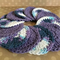 """Face scrubbies, assorted colours - 3.5 to 4"""" Airdrie, T4B 0E4"""