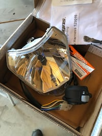 KTM stock headlight and switch Arcadia, 91006