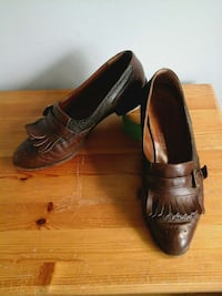 Bally all leather made in switzerland, size 9 Stirling