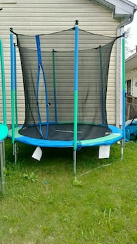blue and black outdoor trampoline Louisville, 40208