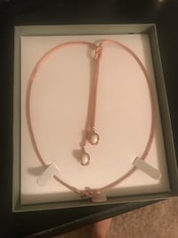Rose gold and pearl necklace Kenner, 70065