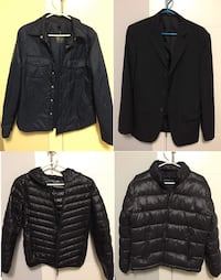12 Branded Men L&M size Jackets New Westminster, V3M 2C8