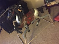 black and brown horse ride on toy Omaha, 68154