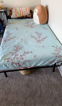 Mattress and bed frame : Twin I have hardly used my bed and bed frame.