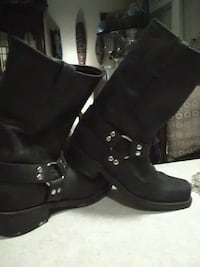 Double h black boot size 10.5 Council Bluffs, 51501