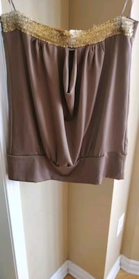 brown and tube top Newmarket, L3X 3J7