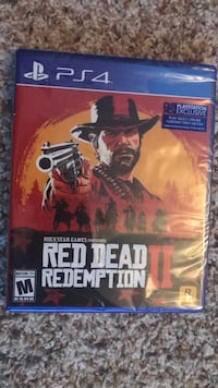 PS4 Red Dead Redemption II new sealed 293 mi