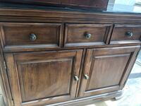 - Console solid wood with stone top Richmond Hill, L4C