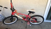 toddler's red and white bicycle Thousand Oaks, 91360