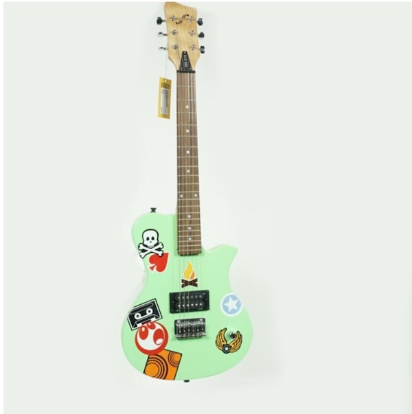 Used First Act Me219 Electric Guitar Green For In Inson Letgo