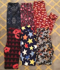 Group of LuLaRoe Leggings