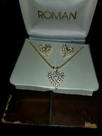 A Brand New Necklace and Earrings Stratford, 50249