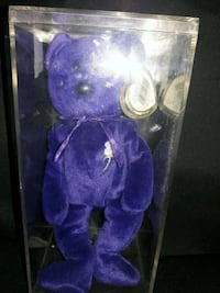 purple and white bear plush toy Morrisville, 19067