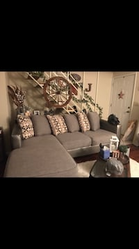 Silver/Gray Couch with Reversible Chase  Columbus, 43230