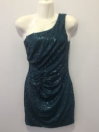 New with tag blue one sided sequin dress Miami Lakes, 33014