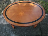Oval Wood Table or Coffee Table Winter Springs, 32708