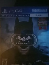 Sony PS4 Batman Arkham Knight game case