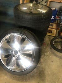 New michellin rims & tires 543 km