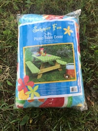 Summer Fun 3-pc picnic table cover Vineland, 08360