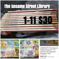 The Sesame Street library 1-11 Columbia City, 46725