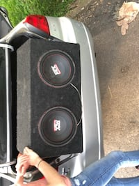 black and gray Dual subwoofer Louisville, 40213