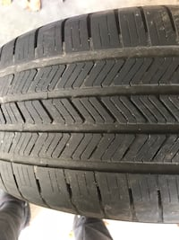 245x45x19 Goodyear Eagle run on flat Hanover, 21076